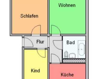 3-Raum-Wohnung in Strausberg Vorstadt