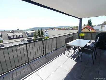 Zweitbezug - Exklusive, barrierefreie 3,5 Zimmer Wohnung mit riesigem Balkon in Rüdesheim - WHG 7