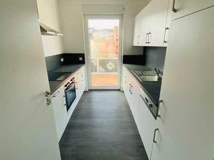 NEUBAU - ERSTBEZUG - Großzügige 3 Zimmer Wohnung mit EINBAUKÜCHE in Gravenbruch zu vermieten!