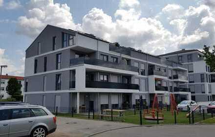Erstbezug: Hochwertige 3 ZKB, EBK, Dachterasse, Parkblick, Garage in Augsburg, Göggingen