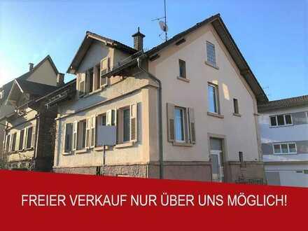 Unter Denkmalschutz stehendes Ein- oder Zweifamilienhaus in Neckarsteinach nahe der Neckarpromenade