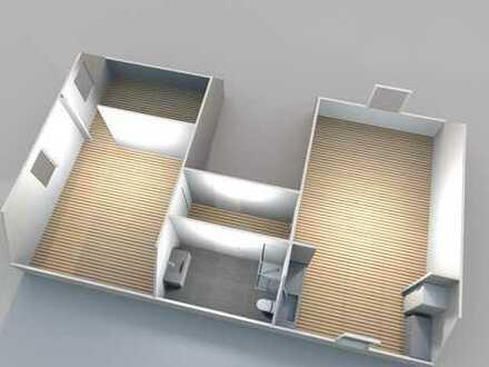 Helle, frisch sanierte DG Wohnung auf dem sonnigen Schießberg 48 m², 3 Zimmer