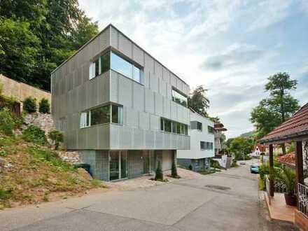 """Architektenhaus, """"Reflecting Cube""""   Einfamilienhaus in Weinheim"""