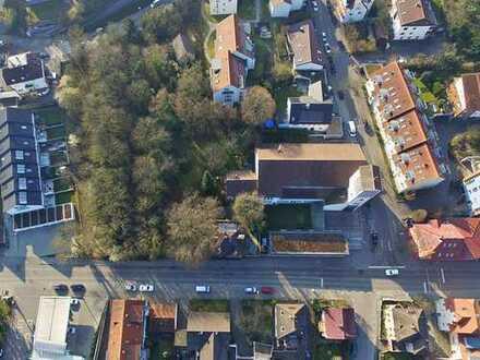 Grundstück inkl. Baugenehmigung für MFH