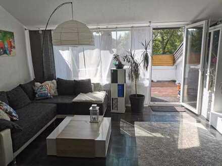 Helle 2-Zimmerwohnung plus Extrazimmer in Bad Liebenzell mit traumhaftem Ausblick