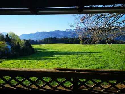 4-ZKB mit großem Balkon, Berg- und Seeblick