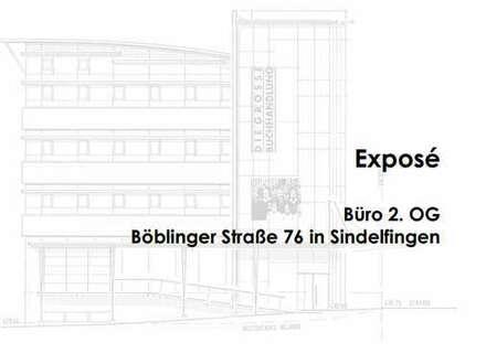 Repräsentative Büroeinheit inmitten von Sindelfingen