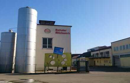Karpfham Nbn.: GroßMolkerei-Liegenschaft samt Hochregal-Lager zu verkaufen