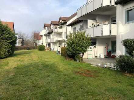 Gepflegte 3-Zi-Erdgeschosswohnung mit großzügiger Terrasse in Oberuhldingen