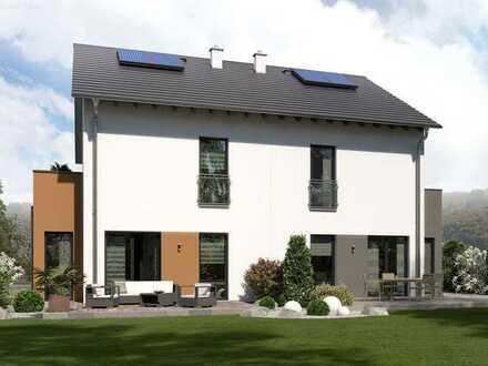 Doppelhaus Newline 7 - großflächiges Raumwunder inkl. Grundstück und Sonderausstattung