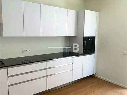 Hochwertige 3 Zimmer Wohnung mit Einbauküche, Balkon, TG Stellplatz & Concierge