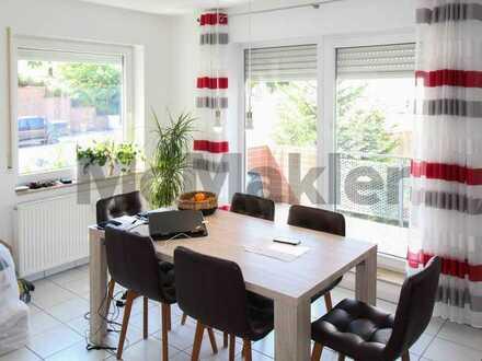 Gepflegte 3-Zimmer-Wohnung mit Südwestbalkon und 2 Duplexstellplätzen in Rauenberg