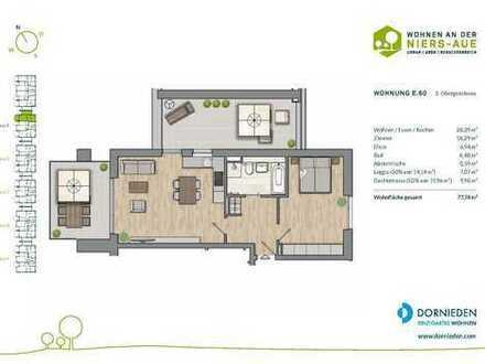 Penthousewohnung mit großer Dachterrasse und Balkon