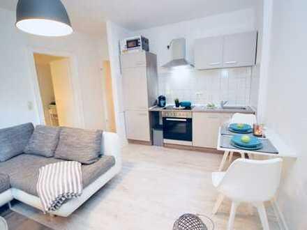 *City-Apartment* 2 Zimmer-Wohnung möbliert inkl. W-Lan & TV & Strom