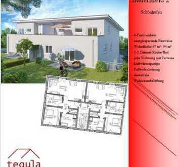 !!Neubau!! 2 Zimmer Dachgeschoßwohnung in idylischer Lage in Schönhofen