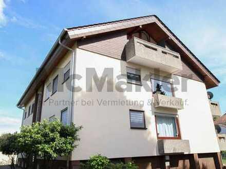 Charmante 2-Zi.-Dachgeschosswhg. mit Balkon zentral in Bad Schönborn