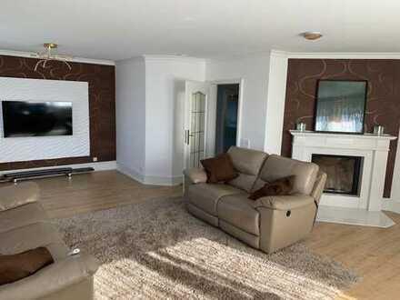Geräumige und luxuriöse 6-Zimmer-Wohnung mit 2 Bädern, 2 Balkonen und 2 Garagen in Harsewinkel