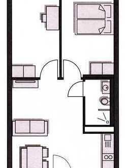 2-Zimmer | Wohnküche | Bad
