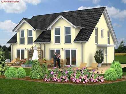Moderne, energiesparende Doppelhaushälfte