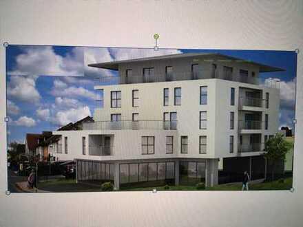 Kleinostheim/Neubau: Freundliche 3-Zimmer-Wohnung mit Balkon (Erstbezug)
