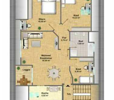 Schöne vier Zimmer Wohnung in Neumarkt in der Oberpfalz (Kreis), Seubersdorf in der Oberpfalz