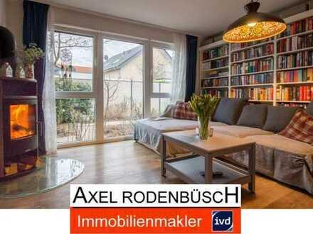 Neuwertige 4-Zimmerwohnung mit Garten in familienfreundlicher Lage von Neu-Manheim