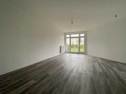 ebenerdiges 1 Zimmerappartement mit kleiner Terrasse, ab sofort zu vermieten