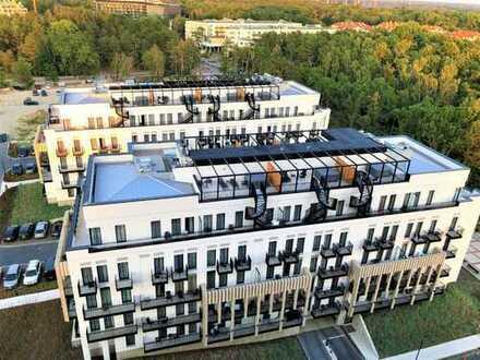 Exkl. Lage v. Swinemünde 2- Zimmer Apartment m. Balkon und Dachterrasse*MEERBLICK*BALTIC PARK FORT*