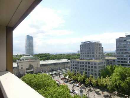 Wohnen mit Aussicht in der Nähe des Hauptbahnhofs!!! 7. /8. OG! Maisonette! 5ZK2B mit Loggia!