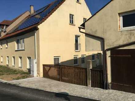 Gepflegte 4-Zimmer-EG-Wohnung mit Einbauküche in Burgbernheim OT Buchheim