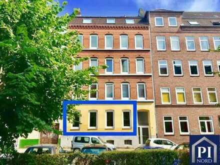 Schön geschnittene 3 Zimmer Wohnung am Schrevenpark mit Balkon!  Kapitalanlage - Vermietet