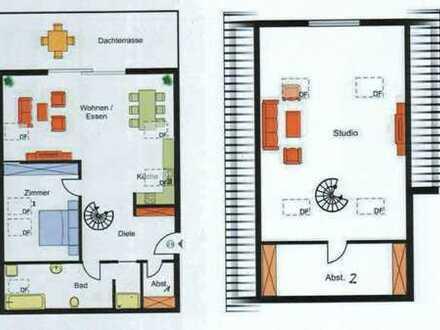 Erstbezug: Attraktive 3-Zimmer-Maisonette-Wohnung in Eningen unter Achalm