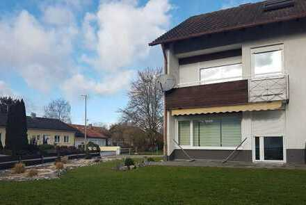 ++ reserviert ++ schöne ruhige Lage in Buxheim: sonnige DHH mit Garage u. Stellplätze