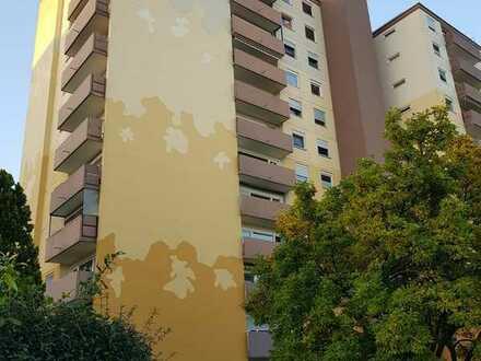 PRIVAT! (e-mail-kontakt) Gepflegte 2-Zimmer-Hochparterre-Wohnung mit Balkon und EBK in Schwetzingen