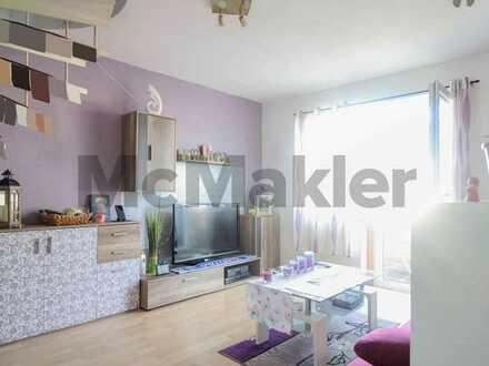 Offenes Wohnen auf 2 Etagen: Bewohnte 2-Zi.-Maisonette mit 2 Balkonen in Engen