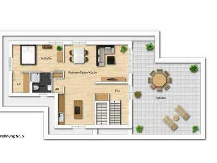 Staffelgeschoss-Neubauwohnung mit großzügiger Dachterrasse