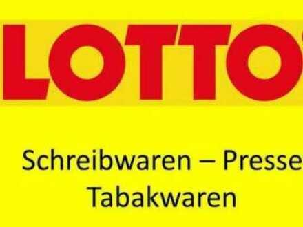 LOTTO-TABAK-PRESSE-PRALINEN etc. Rohertrag ca. 150.000 Abl. 120.000 + Ware