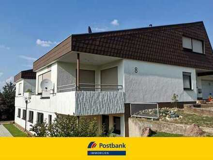 Wohnung in Top Lage mit großer Terrasse und Doppelgarage