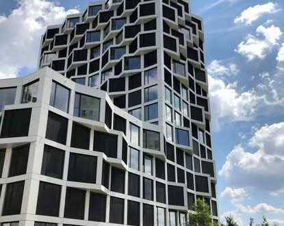 Exklusive 1,5-Zimmer-Wohnung mit Concierge-Service und Dachterrassennutzung im 15. OG