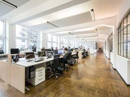 Bürofläche mit Wohlfühlcharakter in Wasserlage   Stellplätze vorhanden   PROVISONSFREI