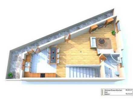 Neubau! Maisonette Wohnung mit großer Terrasse- sehr Zentral!! Reserviert!