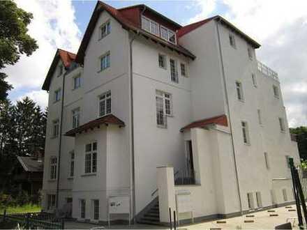 Großzügig geschnittene 2 Zimmerwohnung in der Villenvorstadt direkt am Naturschutzgebiet
