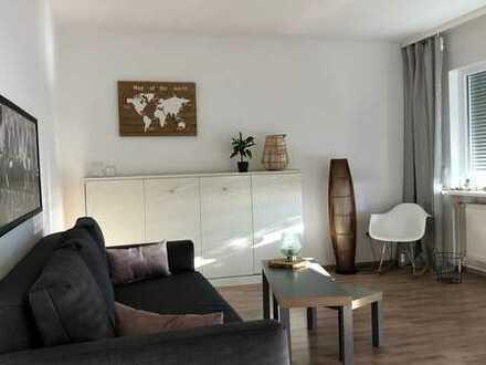 1 Zimmerwohnung mit großem Balkon - Einbauküche und modernem Badezimmer