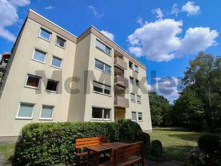 Ruhiges Wohnen in Nürnberg-Langwasser: Helle 4-Zi.-ETW mit Balkon und Gemeinschaftsgarten