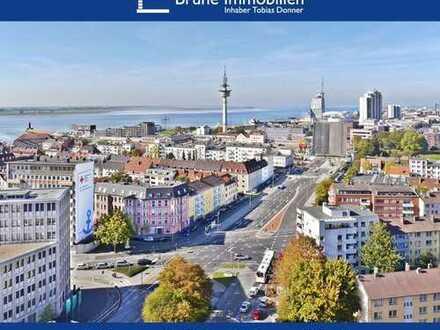 BRUNE IMMOBILIEN - Bremerhaven-Geestemünde: Über den Dächern Bremerhavens