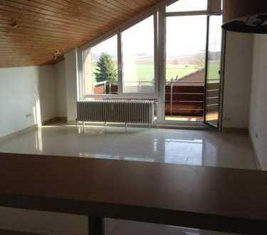 1 Zimmer-Dachgeschoss-Wohnung