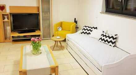 möbliertes 1-Zimmerapartment mit Wlan, TV, Parkplatz, Waschmaschine, Trockner, Küchenzeile, Du/Wc