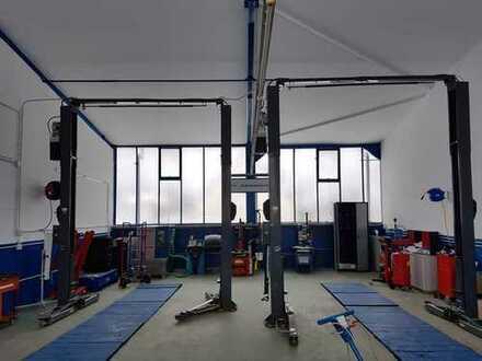 KFZ Werkstatt Lager Halle Büro Office für KFZ TOPLAGE
