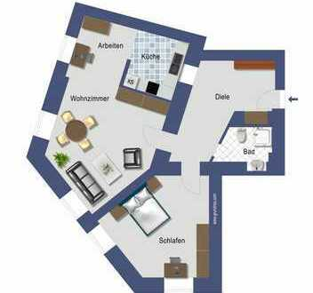 großzügige 2 Zimmer Erdgeschosswohnung gegenüber vom Stadtgarten