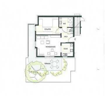 Erstbezug: stilvolle,sonnige,helle 2-Zimmer-EG-Wohnung Terrasse Bietigheim-Bissingen Metterzimmern